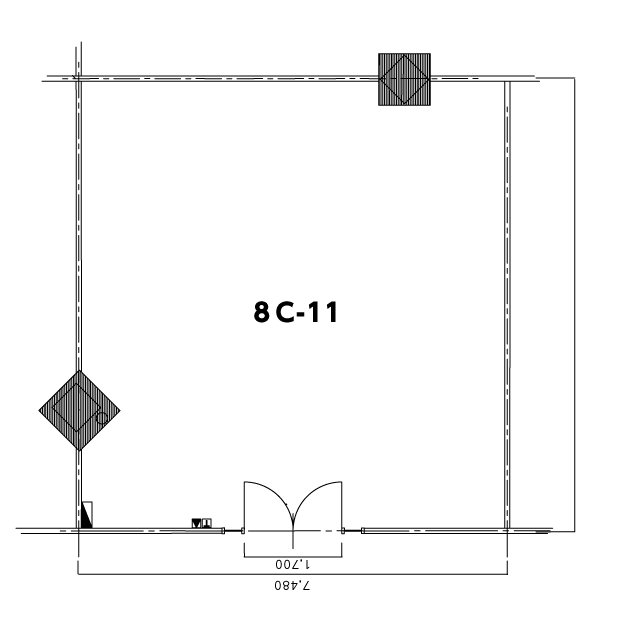 見取り図8C-11