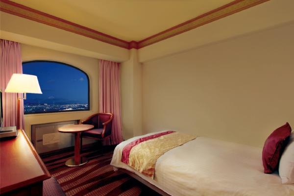 ホテルプラザ神戸のシングルルーム