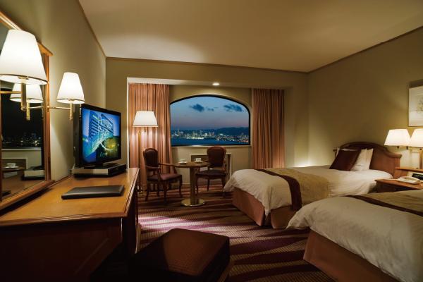 ホテルプラザ神戸のスタンダードツインルーム