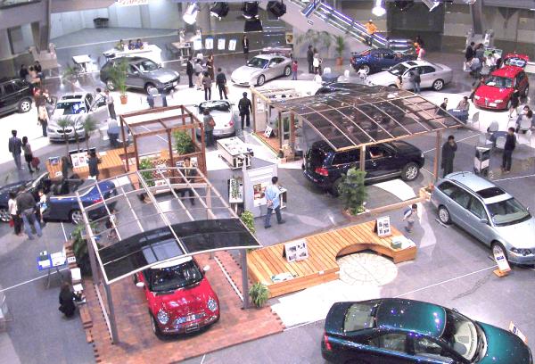 車展示会(アトリウムプラザ)