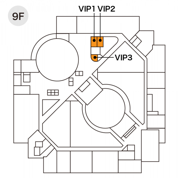 VIPルーム配置図