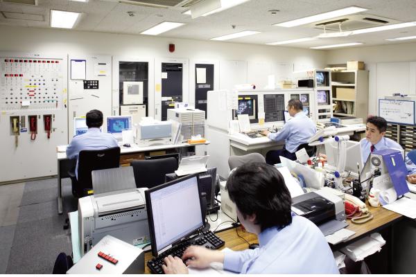 神戸ファッションマートの賃貸オフィスは防犯・防災も万全です