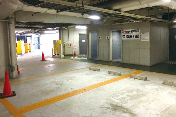 オフィスだより地下駐車場写真2